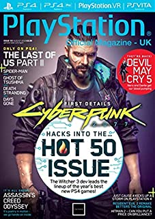 Play Station Official Magazine UK August 2018 - Cyber Funk 2077 - Hacks into the Hot 50 Issue