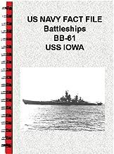 US NAVY FACT FILE Battleships BB-61 USS IOWA