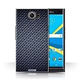 Stuff4 Hülle/Case für BlackBerry Priv/Blau