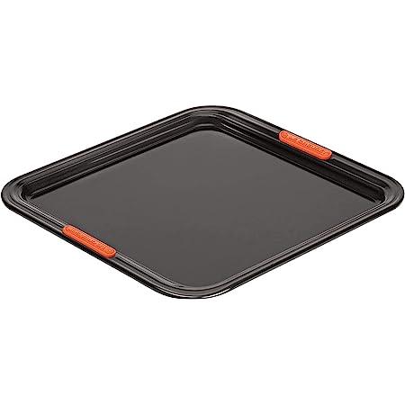 LE CREUSET 94100637000000 Toughened Non-Stick Bakeware Rectangular Baking Sheet, 31 cm, Black