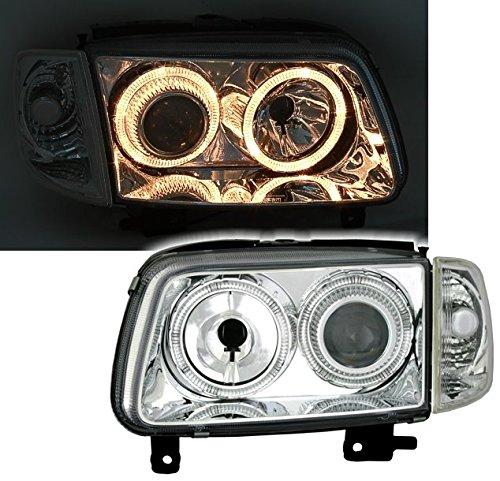 AD Tuning GmbH & Co. KG 960393 Angel Eyes Fernscheinwerfer Set, Klarglas Chrom