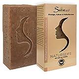 Skineco Naturseife | nachhaltige Duschseife mit Orange, Kakao, Haferflocken, Bio Olivenöl |...