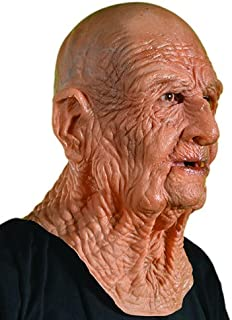 old man face mask realistic
