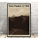 LLXHG Poster Hot Twin Peaks Tv Serie Zeigen Classic Movie