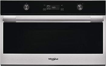 Whirlpool W7 MD540 - Microondas (Integrado, Microondas combinado, 31 L, 1000 W, Giratorio, Tocar, Acero inoxidable)