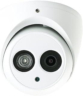 Dahua HAC-HDW1200EM-A 2 Megapixel HD-CVI Matrix IR Eyeball Dome Security Camera with Audio, 3.6mm Lens 164FT Night Vision ...