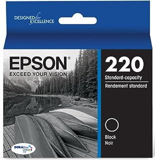 Epson T220120 DURABrite Ultra Black Standard Capacity Cartridge Ink (WF-2760, WF-2750, WF-2660, WF-2650, WF-2630, XP-424, XP-420, XP-320)