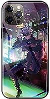呪術廻戦 2020 Iphone12 ケース, 携帯電話ケース リング付き TPUバンパー 薄型 耐衝撃 衝撃吸収 四隅滑り止め スマホケース 多機種 全面保護 クリア かわいい おしゃれ