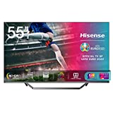 Hisense 55U71QF Smart TV ULED Ultra HD 4K 55', Quantum Dot, Dolby Vision HDR, HDR10+, Dolby Atmos, Full Array Local Dimming, con Alexa integrata, Tuner DVB-T2/S2 HEVC Main10 [Esclusiva Amazon - 2020]