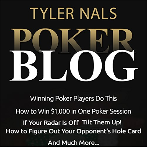Poker Blog audiobook cover art