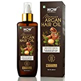 WOW Skin Science Cold Pressed Moroccan Argan Hair Oil - No Mineral Oil