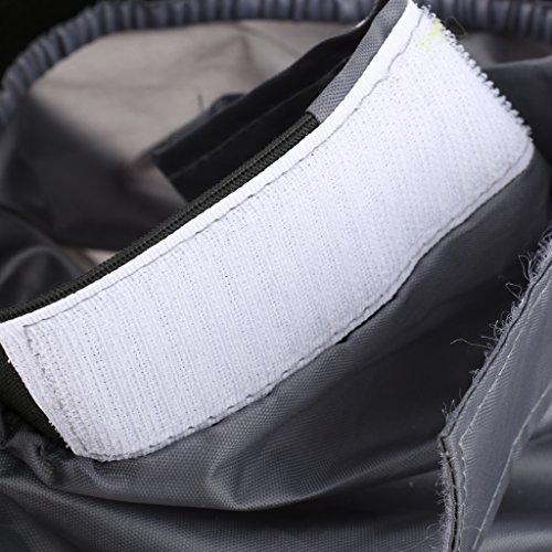Universal Faldas Impermeable A Prueba De Aua De Aerosol Kayak Cubierta Cubrir Falda Gris Cubrebañeras Ajustable
