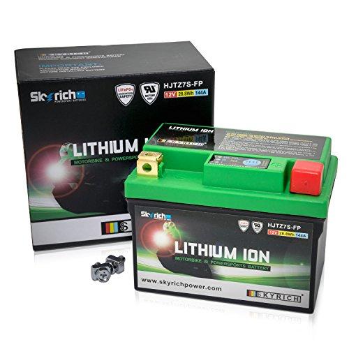 Skyrich HJTZ7S-FP Batteria di avviamento, Multicolore, 8.5 x 11 x 7 cm