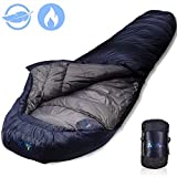 Life Time Warranty15 Degree 4 Season Down Sleeping Bag-Lightweight...