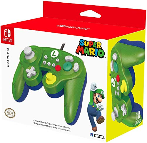 HORI - Battle Pad Luigi Nintendo Switch