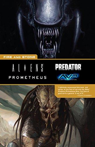 Aliens Predator Prometheus AVP: Fire and Stone (English Edition)