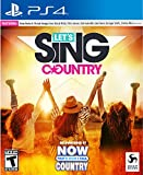 Let's Sing Country - PlayStation 4 Solo Edition