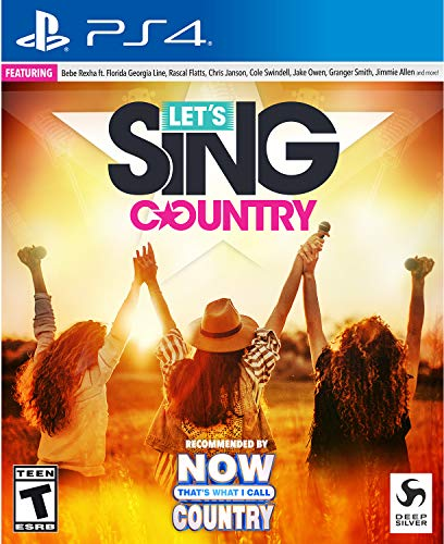 Lets Sing Country - PlayStation 4 Solo Edition