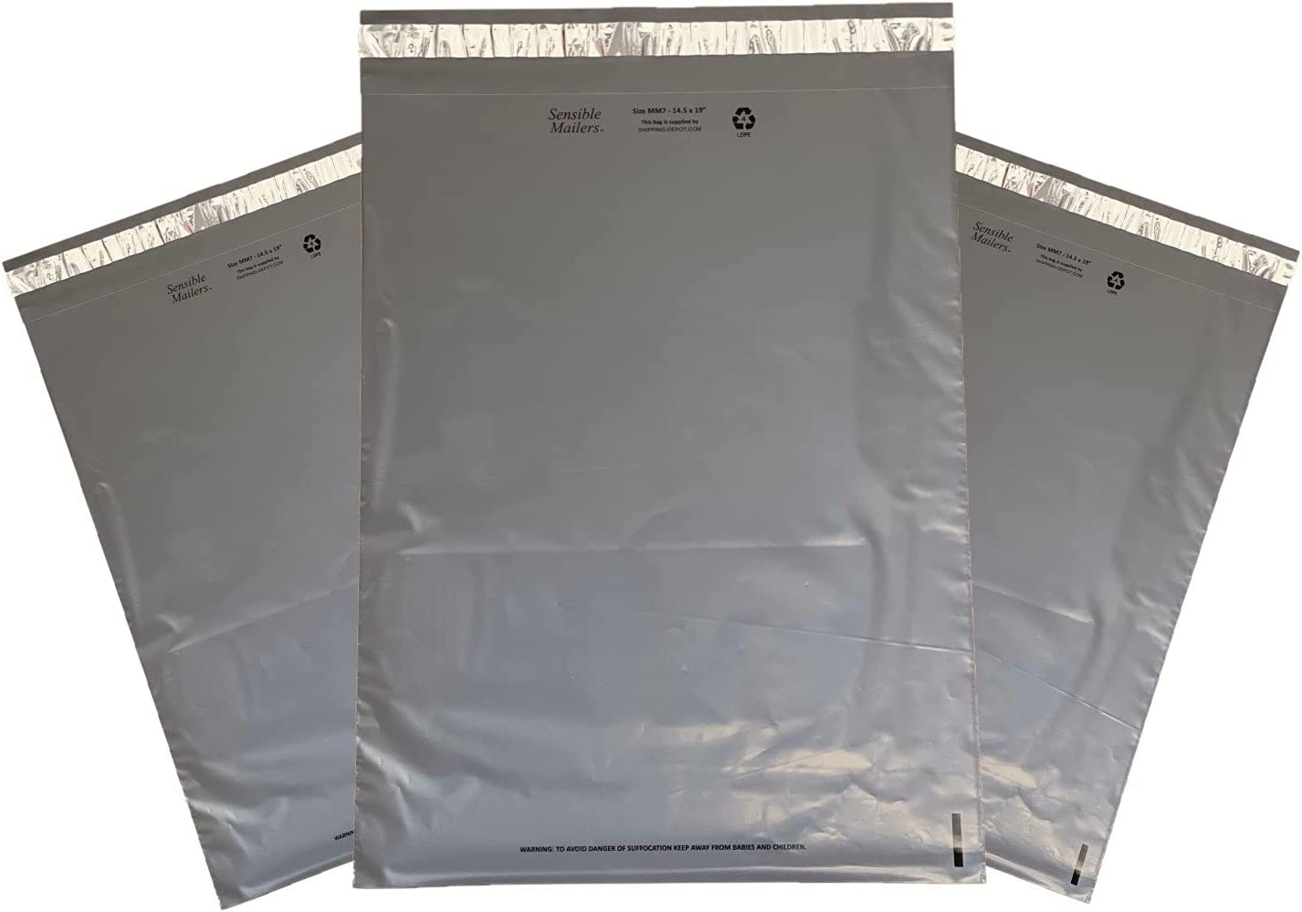 """Sensible Mailers – 1 000 Fully service 10x13"""" of Pack Recycled Low price"""
