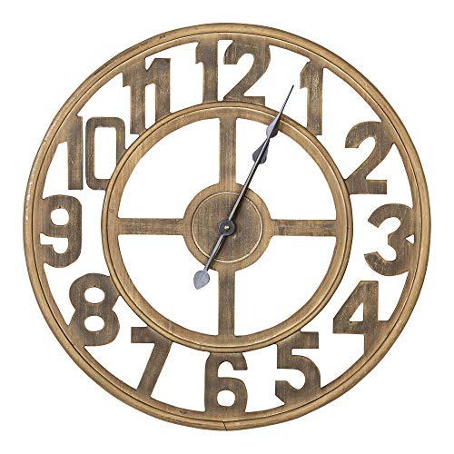 Stratton Home Decorstratton Home Decor Rustic Farmhouse Wall Clock Dailymail