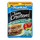 StarKist Tuna Creations Deli Style Tuna Salad - 3 oz Pouch (Pack of 12)