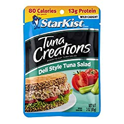 StarKist Tuna Creations, Deli Style Tuna Salad, 3 oz Pouch (Packaging May Vary)