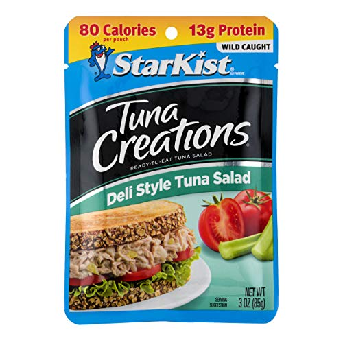 StarKist Ready-to-Eat Tuna Salad, Original Deli Style, 3 oz pouch (Pack of 24) (Packaging May Vary)