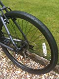 Curio UK LS077 Pneu VTT de Type Slick 26 x 2.10