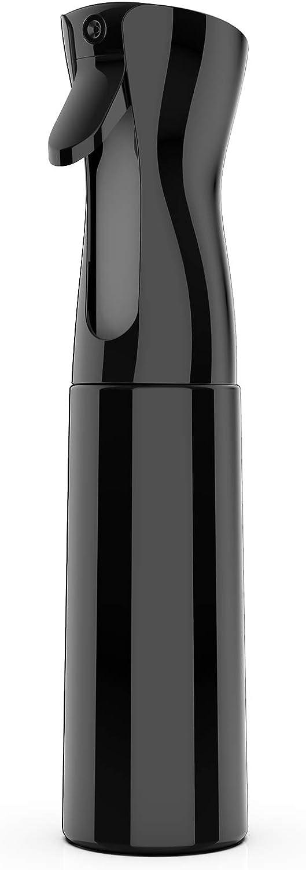 GeeRic pulverizador agua peluqueria,300 ml Frascos de spray Botella de spray para el cabello Fina Niebla Pulverizador Continuo Pulverizador para peinado, plantas, mascotas limpieza