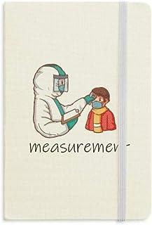 يشير القياس إلى نورموثيميا لمنع دفتر الملاحظات النسيج الرسمي الغلاف الصلب يوميات يوميات كلاسيكية