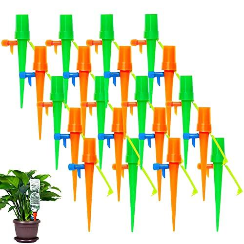 BETOY 20 PCS Irrigazione a Goccia, Automatico Irrigazione Piante Automatic Plant Waterer Cono da Giardino annaffiatoio pianta Fiore Waterer irrigazione per Interni ed Esterni