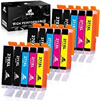 IKong PGI-270XL CLI-271XL Compatible Replacement for Canon 270 271 Ink Cartridges
