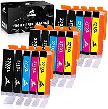 IKong PGI-270XL Compatible Replacement for Canon 270 271 Ink Cartridges