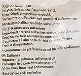 Seeberger Sultaninen extra ungesüsst, 8er Pack (8 x 500 g Packung) - 6