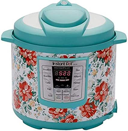 nstant Pot Pioneer Woman LUX60 Vintage Floral 6 Qt 6-in-1...