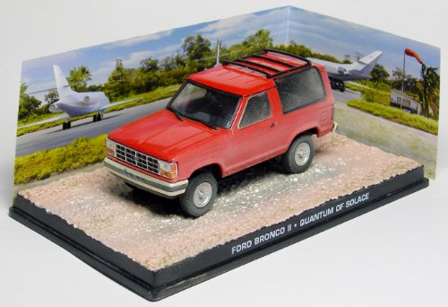 007 James Bond Car Collection #103 Ford Bronco II (Quantum of Solace)
