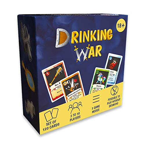 Drinking Game Drinking War : The Strategic Game for Parties Among Friends