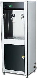 Wgwioo Distributeur d'eau Chaude De Bureau Commercial De Grande Capacité en Acier Inoxydable, Machine À Eau Au Sol, Distri...