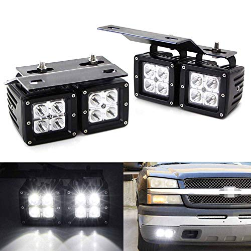 06 silverado fog light kit - 9