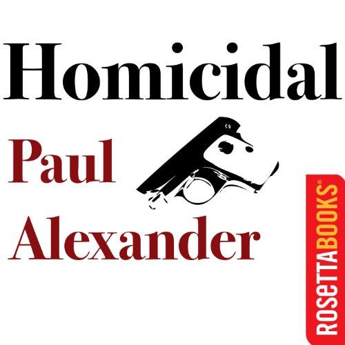Homicidal audiobook cover art