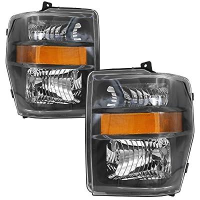 AJP Distributors Replacement Headlights For Ford F250 F350 F450 F550 Super Duty Truck