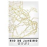artboxONE Poster 120x80 cm Städte Rio DE Janeiro Brazil