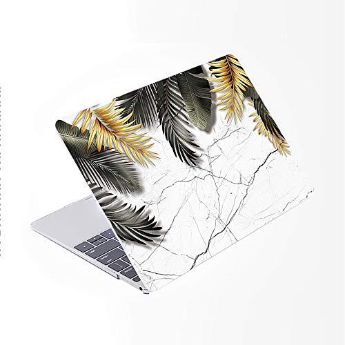 SDH Funda para MacBook Pro de 13 pulgadas (2020/2019/2018/2017/2016, Touch Bar e ID), carcasa rígida con patrón de plástico y funda para ordenador portátil y cubierta para Mac Pro 13 A2159/A1989/A1706/A1708, hermosas hojas 8