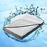 Marchpower Cotton Cooling Blanket - Latest Cool-to-Touch Technology - Lightweight Cool Blankets for...