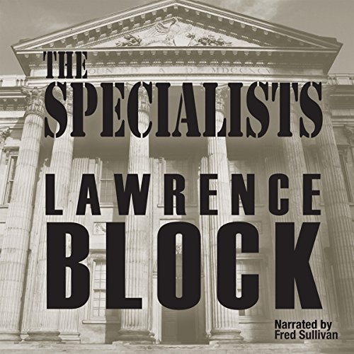 The Specialists audiobook cover art