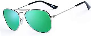 Rocf Rossini - Gafas de Sol Aviador Para Niños y Niñas Marco Metal de Cat.3 UV Protection con Estuche