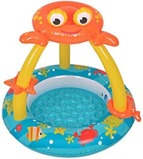 Best Sport 64 012 cm Krabba Baby Paddling Pool Set, 100 x 95 cm