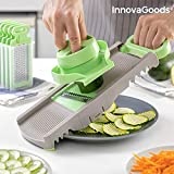 InnovaGoods | Mandolina Rallador plegable en 6 en 1 Choppie | Set 3 accesorios