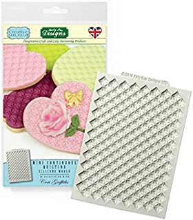 Katy Sue Creative Cake System Silicone Icing Mould - Mini Continuous Quilting