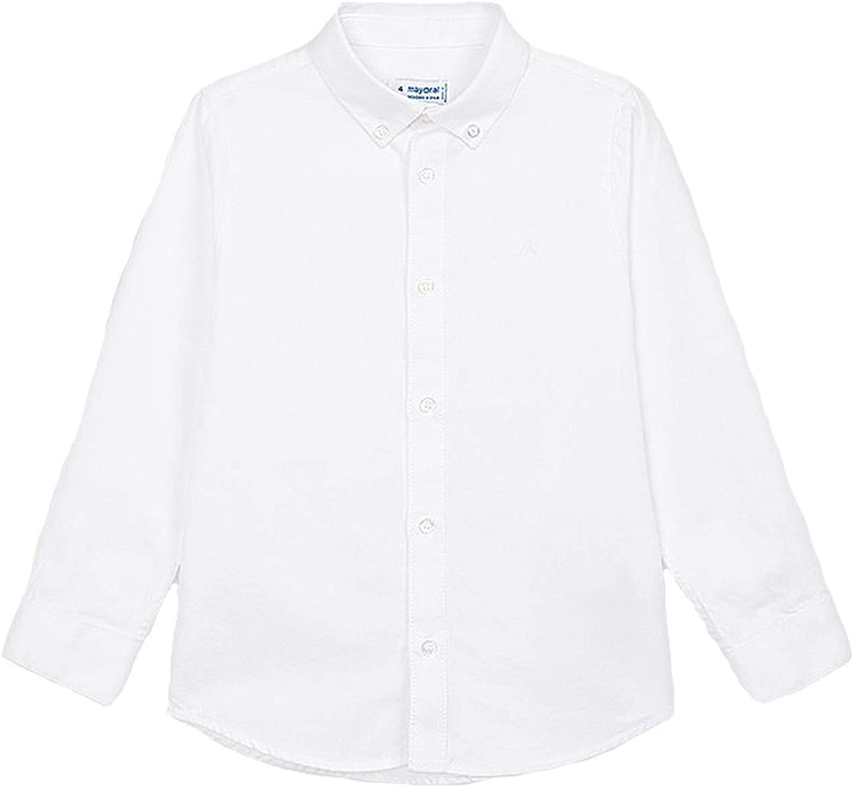 Mayoral - Basic l/s Shirt for Boys - 0146, White